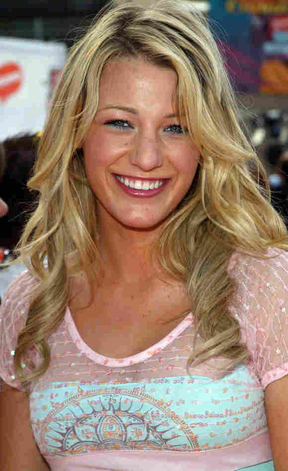 Blake Lively in 2005 before plastic surgery