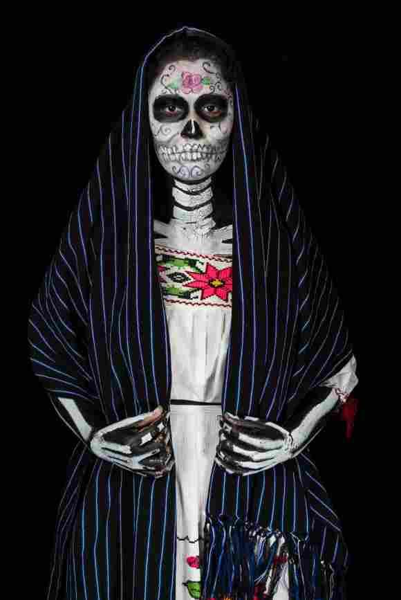Atuendo de Catrina para Día de Muertos