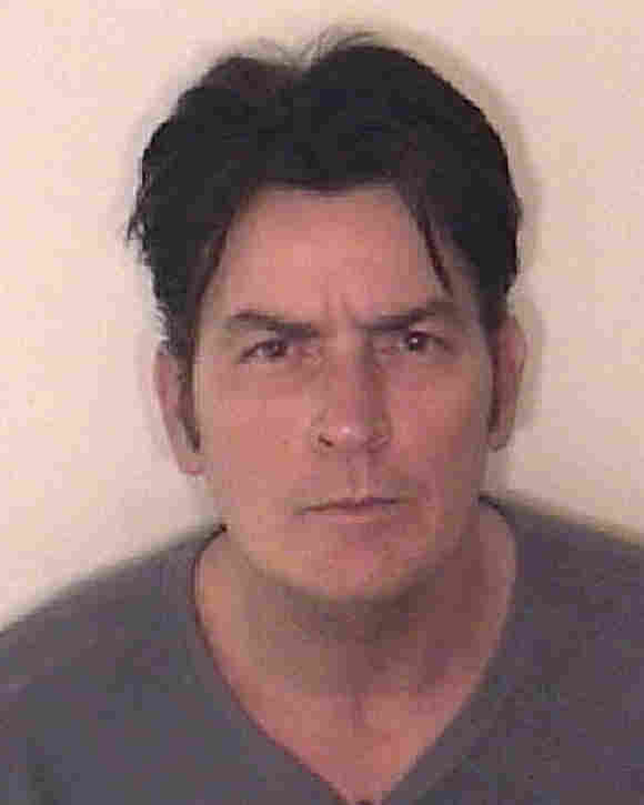 In this handout photo provided by the Aspen Police Department, Charlie Sheen is pictured after being arrested on December 25, 2009 in Aspen, Colorado.
