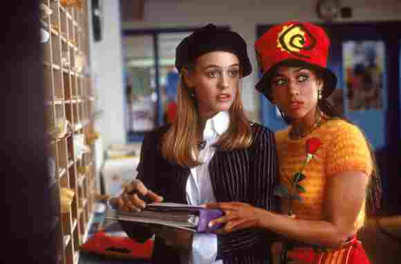 Alicia Silverstone and Stacey Dash in 'Clueless'