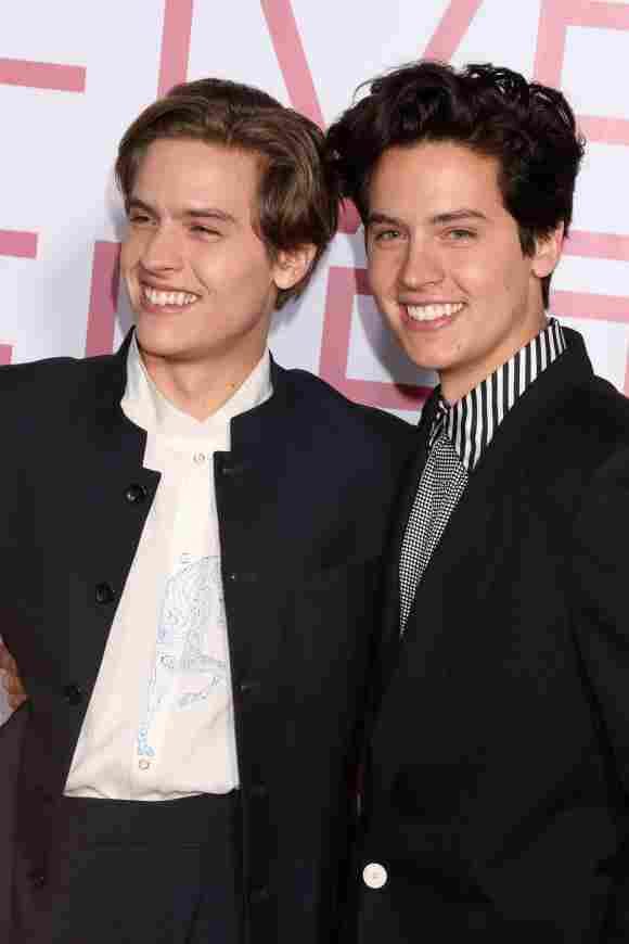 Dylan Spouse and Cole Sprouse on March 7th, 2019.