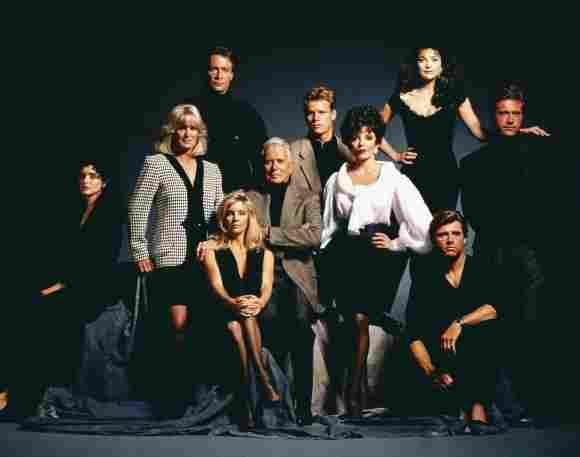 The Dynasty cast in 1991.