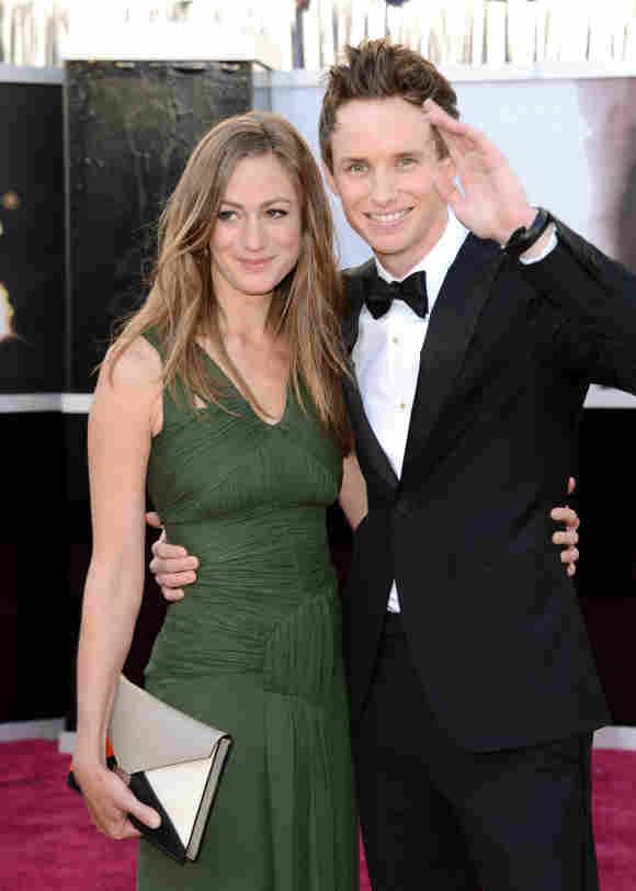 Hannah Bagshawe y Eddie Redmayne