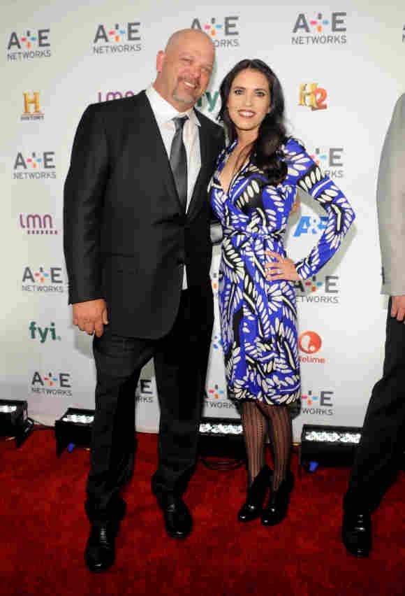 Rick Harrison y Deanna Burditt