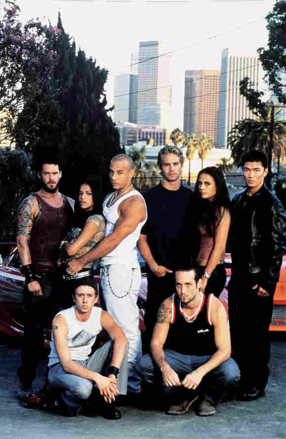 'The Fast and the Furious' Cast 2001