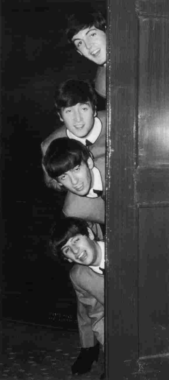 George Harrison, Paul McCartney, John Lennon, and Ringo Starr