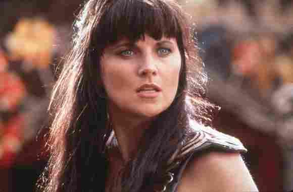 Lucy Lawless en 'Xena: la princesa guerrera' en 1996.