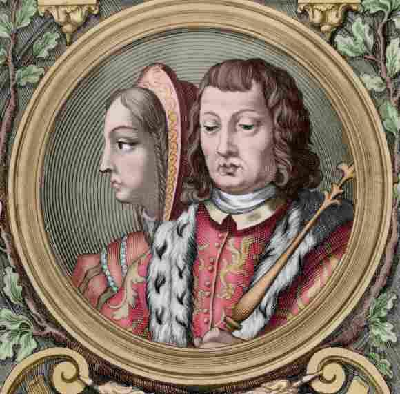 Los Reyes Católicos Fernando de Aragón e Isabel de Castilla