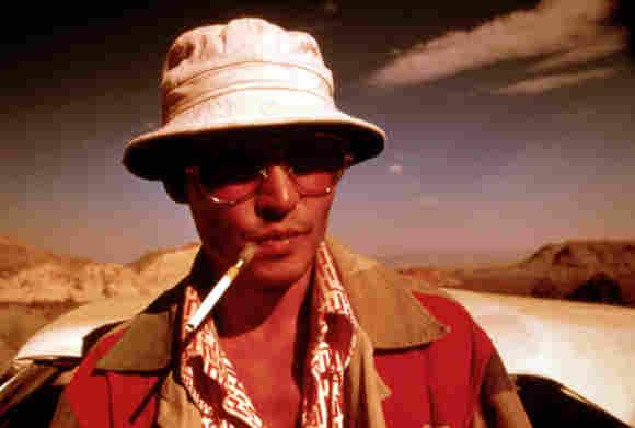 Johnny Depp in 'Fear and Loathing in Las Vegas'.
