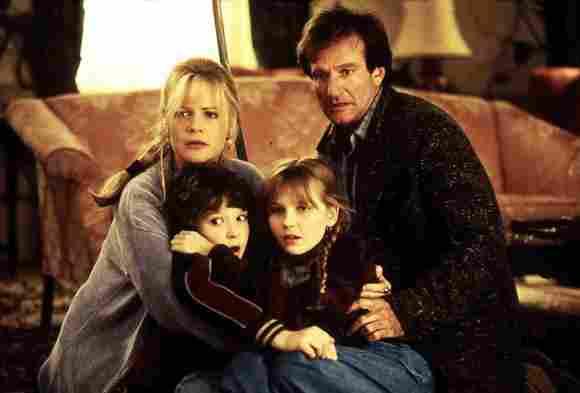 Jumanji Cast 1995 Bonnie Hunt Bradley Pierce Kirsten Dunst Robin Williams