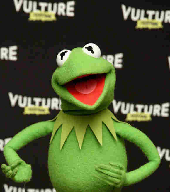 Kermit the Frog attends the Vulture Festival on May 21, 2016.