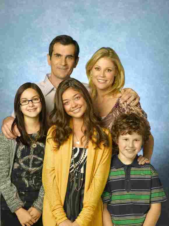La familia Dunphy-Pritchett de 'Modern Family'