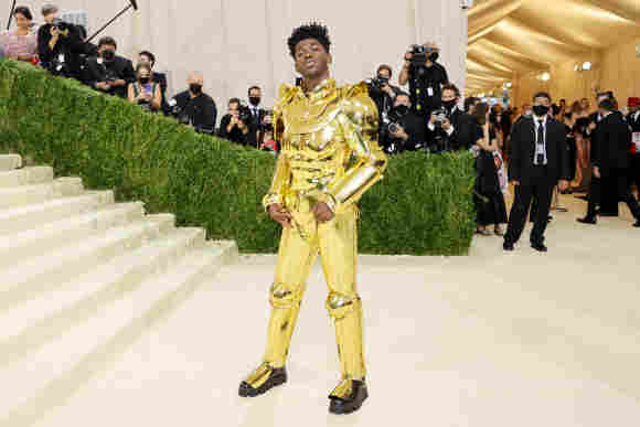 Lil Nas X attends the 2021 Met Gala, September 13, 2021.