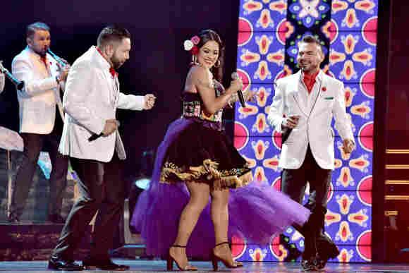 Lila Downs en los Latin Grammys de 2017