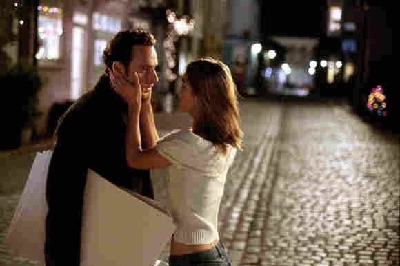 Keira Knightley and Andrew Lincoln in the 2003 movie Love Actually