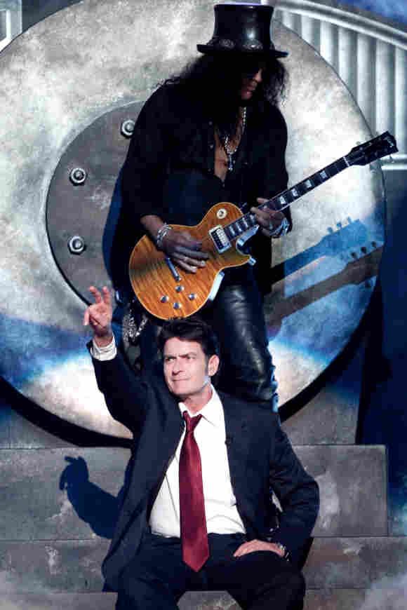 Charlie Sheen y Slash