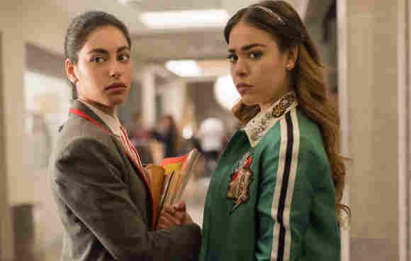 Danna Paola and Mina El Hammani