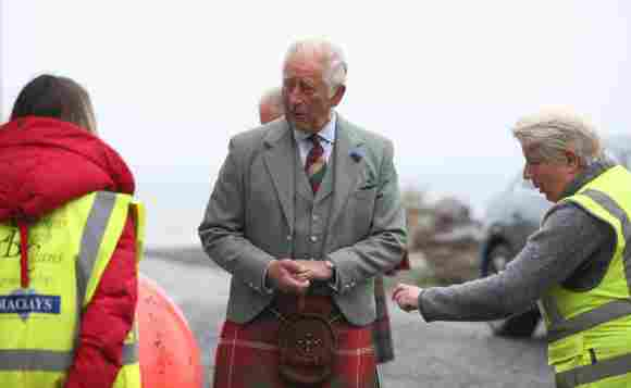 Prince Charles Wears A Kilt During His Recent Scotland Tour