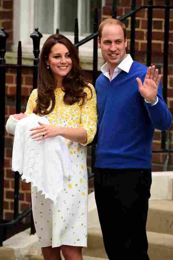 Kate Middleton, Prince William and Princess Charlotte