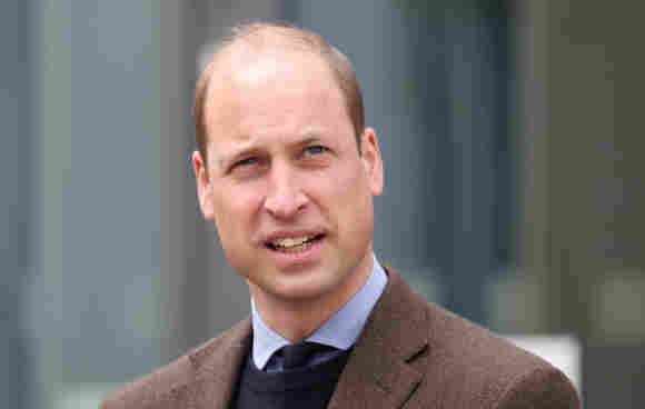 Prince William at the opening of Balfour Hospital in Kirkwall on May 25, 2021