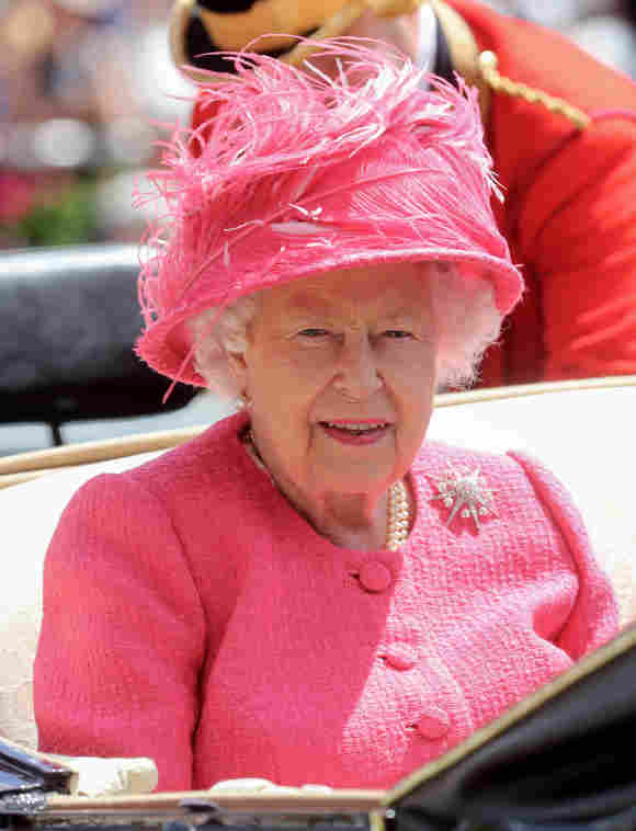 Queen Elizabeth II arrives on day four of Royal Ascot at Ascot Racecourse on June 21, 2019 in Ascot, England