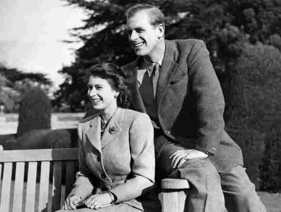 La Reina Isabel II y el Príncipe Felipe durante su luna de miel en 1947