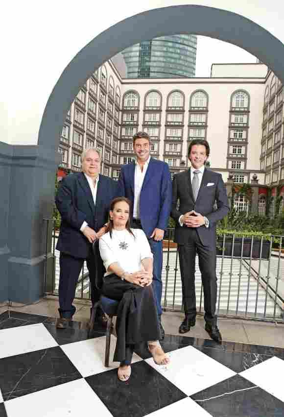 Carlos Bremer, Patricia Armendáriz, Arturo Elías Ayub y Rodrigo Herrera