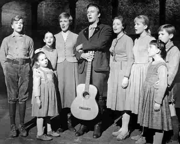 """The """"von Trapp"""" family in The Sound of Music"""