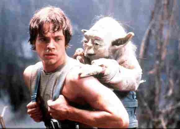 Mark Hamill in 'Star Wars: The Empire Strikes Back'.