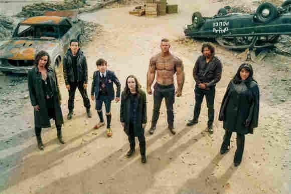The Cast of 'The Umbrella Academy'