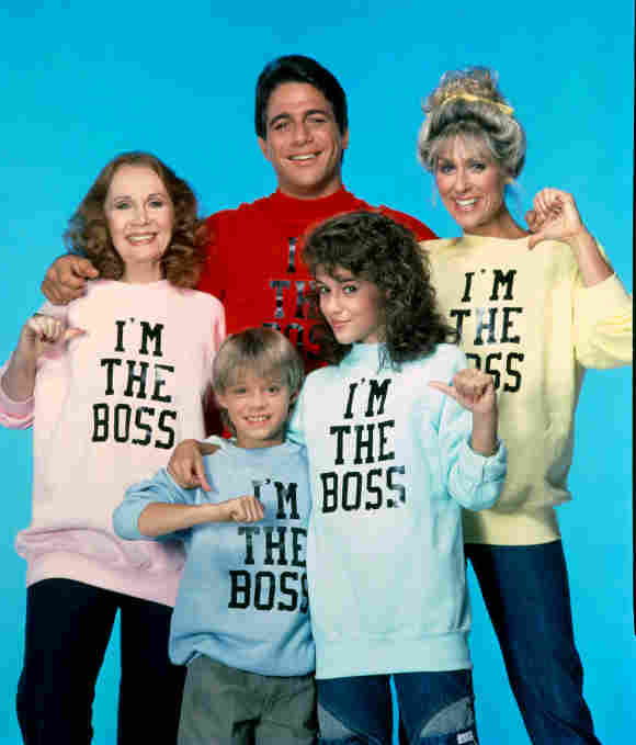 The 'Who's The Boss?' cast in 1984.