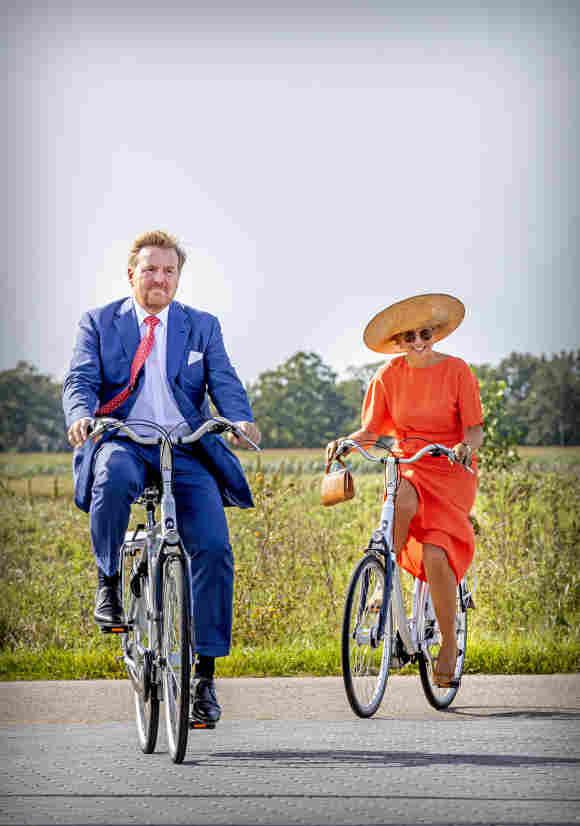 El Rey Willem-Alexander y la Reina Máxima en Septiembre de 2020