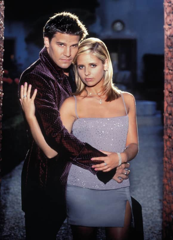 David Boreanaz  Sarah Michelle Gellar Buffy Vampire Slayer