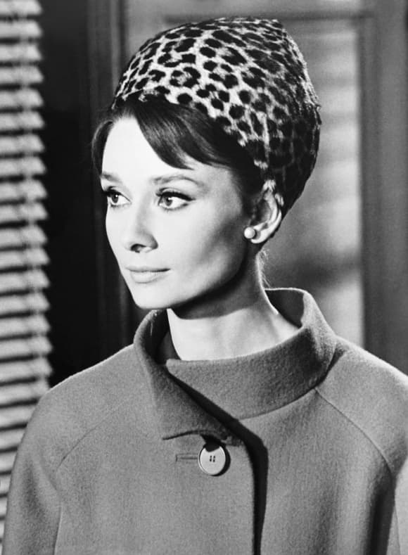 Audrey Hepburn in How to Steal a Million (1966).
