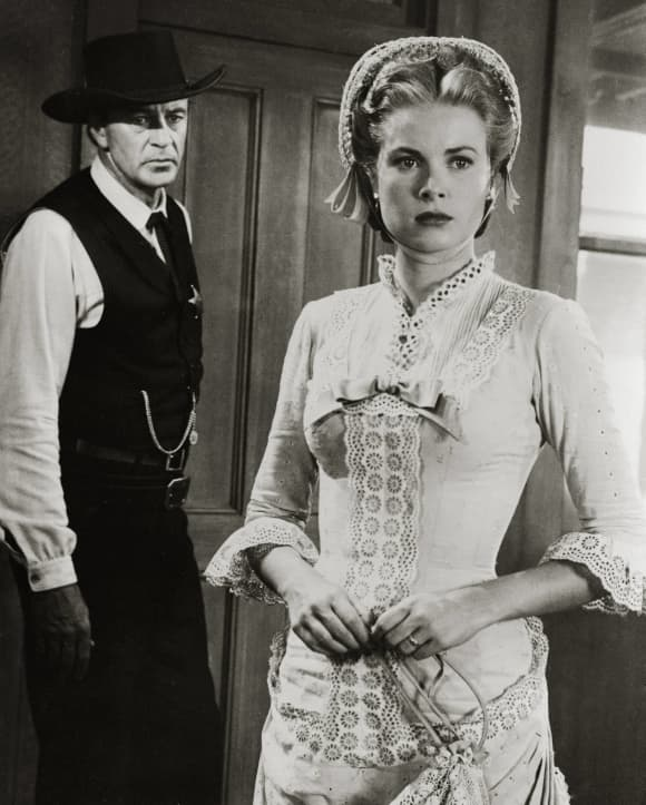 'High Noon' Grace Kelly and Gary Cooper 1952