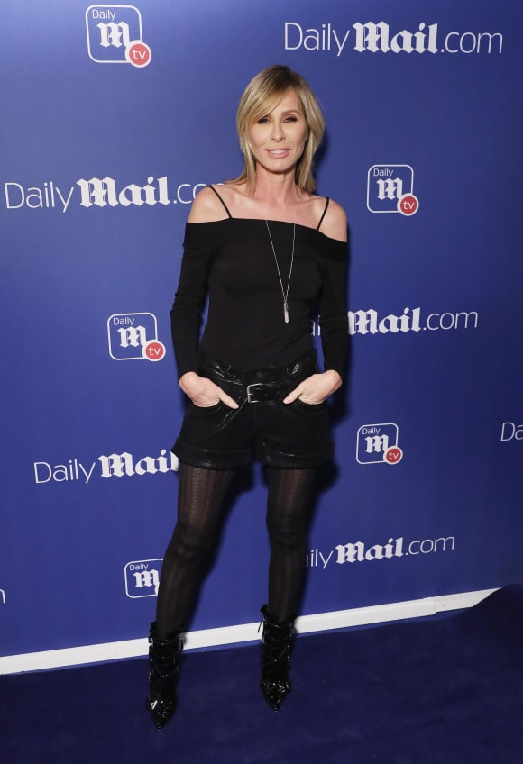 Carole Radziwill attends the DailyMail.com and DailyMailTV Holiday Party.