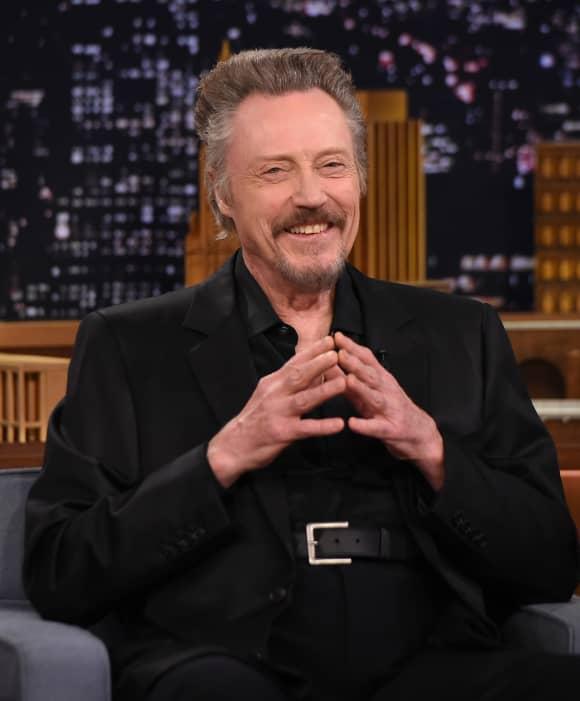 "Christopher Walken Visits ""The Tonight Show Starring Jimmy Fallon"" at Rockefeller Center on November 26, 2014 in New York City."