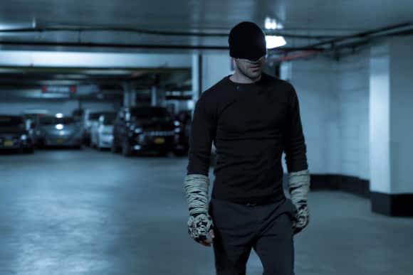 A scene from the series Daredevil