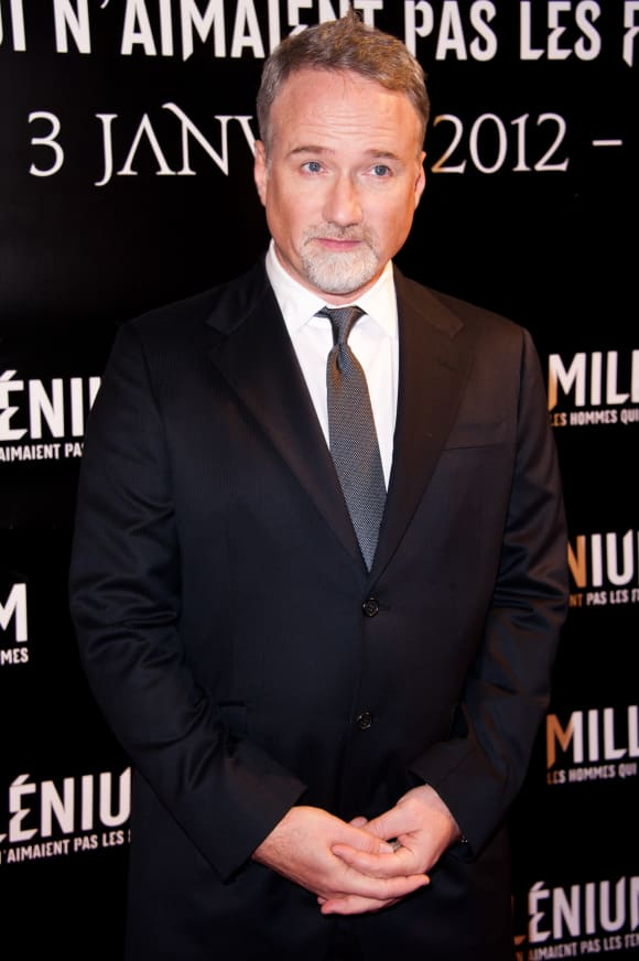 David Fincher director attends the 'The Girl With The Dragon Tattoo' Paris movie premiere in 2012.