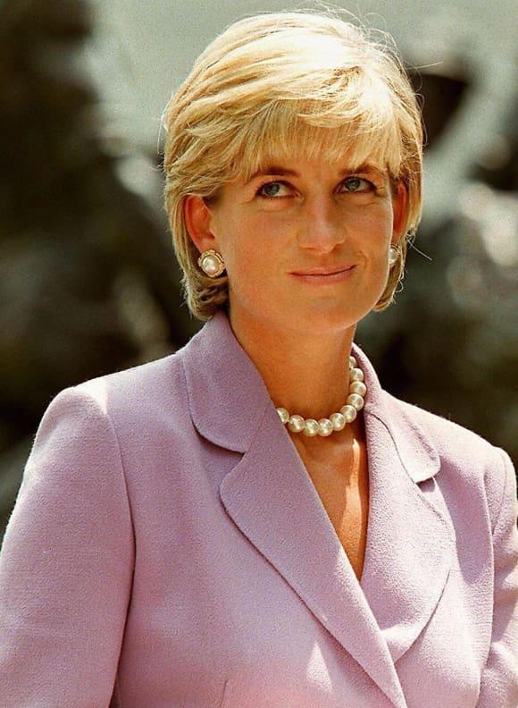 Diana, Princess of Wales (1961-1997) in June of 1997. Tragic death in car crash 1997.