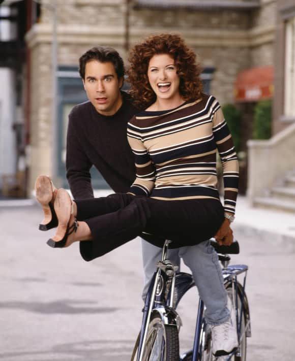 """Eric McCormack and Debra Messing in """"Will & Grace"""""""