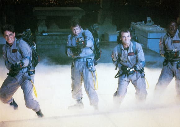 The cast of 'Ghostbusters'