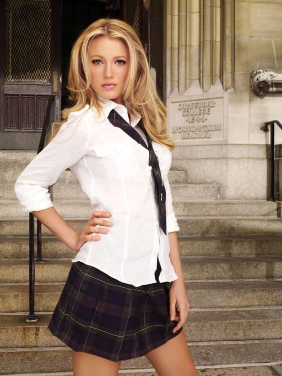 "Blake Lively as ""Serena Van der Woodsen"""