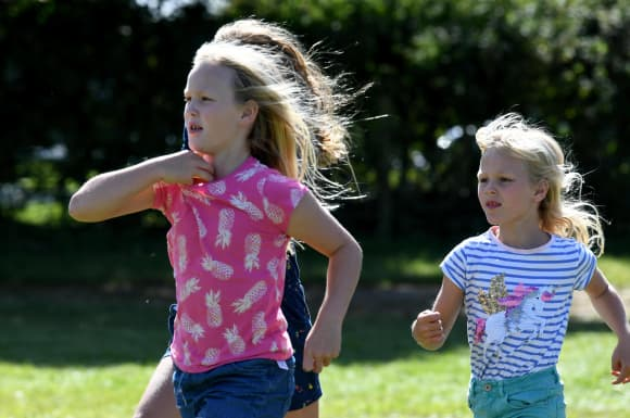 The Great-Grandchildren of Queen Elizabeth II facts number grandkids British royal family 2021 pictures photos meet