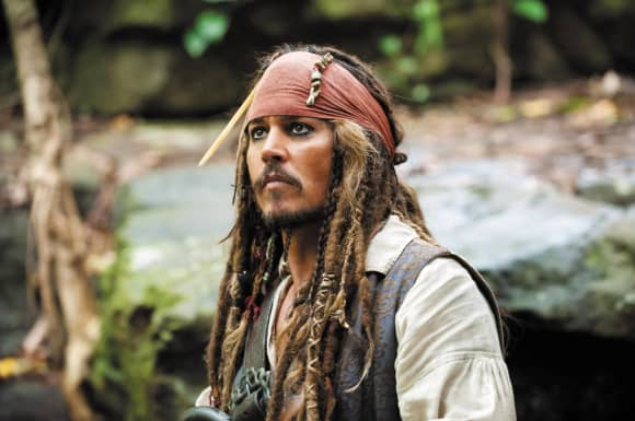 'Here's Everything Coming To Disney+ In May 2020 Pirates of the Caribbean On Stranger Tides Johnny Depp Jack Sparrow
