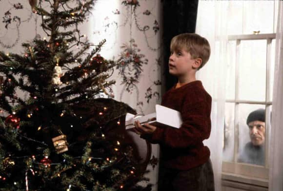 "Christmas favorite ""Home Alone"""