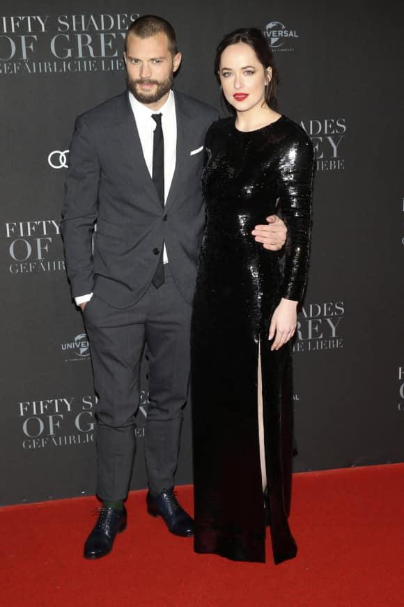 Jamie Dornan y Dakota Johnson