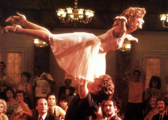 """Jennifer Grey and Patrick Swayze in """"Dirty Dancing"""""""