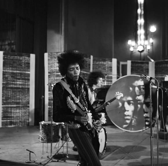 Fender Stratocaster de Jimi Hendrix 1963