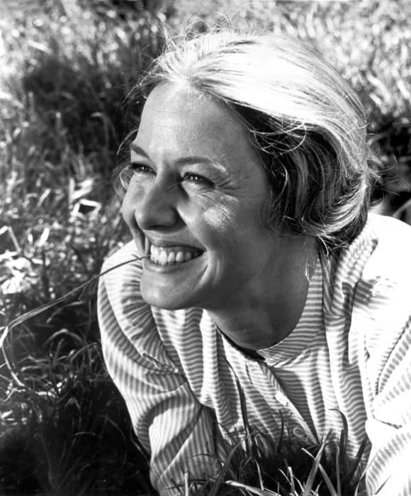 Karen Grassle in 'Little House on the Prairie'.